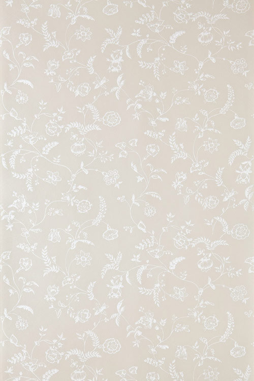Farrow & Ball Uppark White / Beige Wallpaper - Product code: BP 523