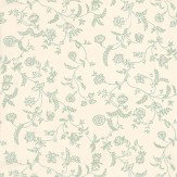 Farrow & Ball Uppark Green / Off White Wallpaper - Product code: BP 549