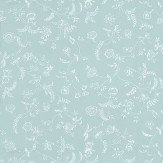 Farrow & Ball Uppark White / Sky Blue Wallpaper - Product code: BP 553