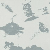 PaperBoy The Final Frontier Blue Grey Blue Wallpaper - Product code: TFF/WP/BLU