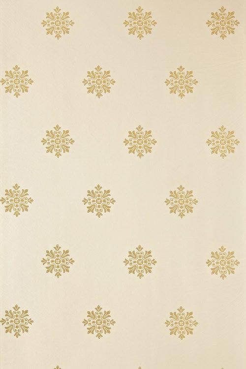 Farrow & Ball Brockhampton Star Metallic Gold / Beige Wallpaper - Product code: BP 515
