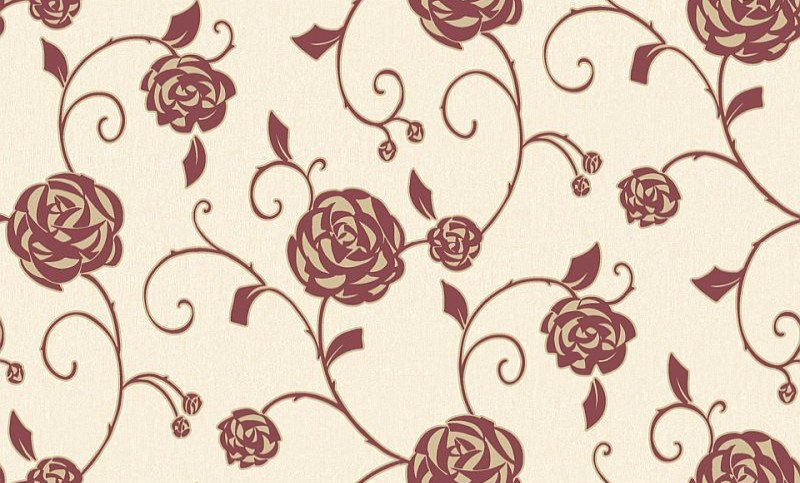 Image of Crown Wallpapers Gilt Rose, M0768