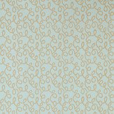 Farrow & Ball Vermicelli Duck Egg Wallpaper