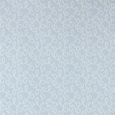 Farrow & Ball Vermicelli Pale Blue Wallpaper - Product code: BP 1553