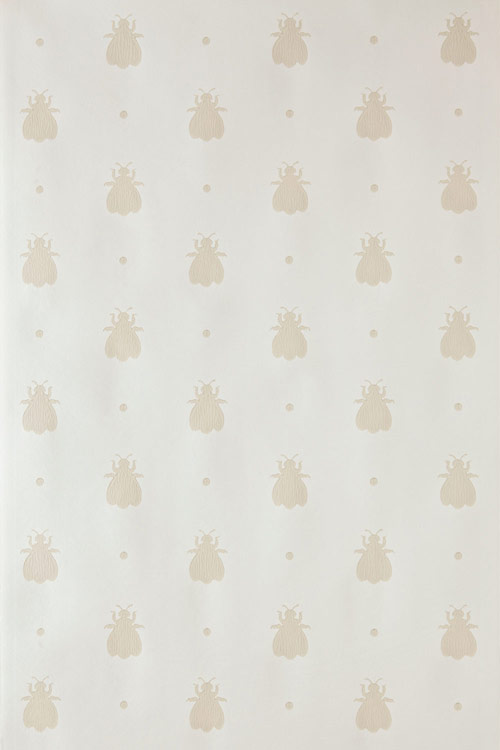Farrow & Ball Bumble Bee Beige / Cream Wallpaper - Product code: BP 509