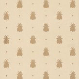Farrow & Ball Bumble Bee Metallic Gold / Sand Wallpaper