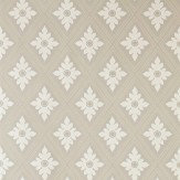 Farrow & Ball Ranelagh Cream / Taupe Wallpaper