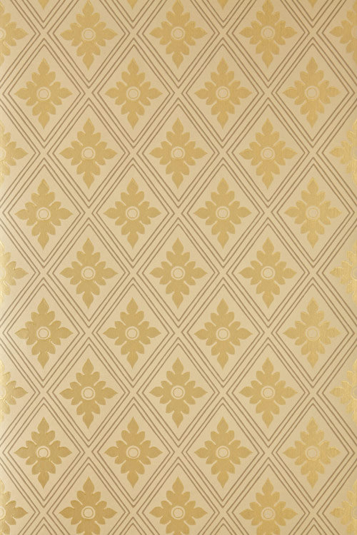 Farrow & Ball Ranelagh Gold Wallpaper - Product code: BP 1815