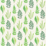 Sanderson Angel Ferns Green Fabric - Product code: 221925