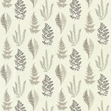 Sanderson Angel Ferns Charcoal Fabric - Product code: 221926