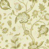 Little Greene High Street Eden Apple Green Wallpaper