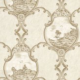 Little Greene Crooms Hill Fresco Stone / Beige Wallpaper