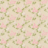 Sanderson Lilacs Pink / Stone Fabric