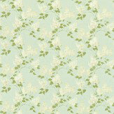 Sanderson Lilacs Duck Egg / Ivory Fabric