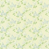Sanderson Lilacs Blue / Ivory Fabric