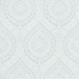 Osborne & Little Rosalia Damask Duck Egg Wallpaper - Product code: W6493-03