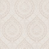Osborne & Little Rosalia Damask Taupe Wallpaper - Product code: W6493-06