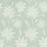 Osborne & Little Chenar Duck Egg Wallpaper - Product code: W6497-05