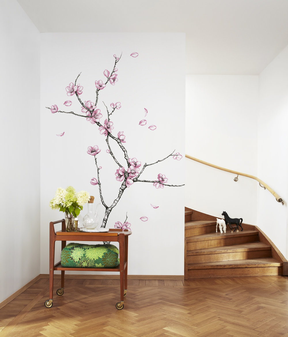 Mr Perswall Asian Wind Mural - Product code: P161701-4