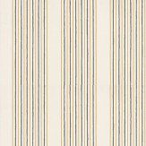 Nina Campbell Abbotsford Ivory / Yellow / Gilver Wallpaper