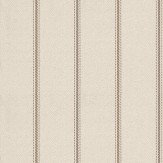 Nina Campbell Strome Stone / Gold / Taupe Wallpaper