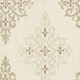 Nina Campbell Holmwood Willow / Gold Wallpaper