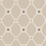 Nina Campbell Huntly Mica / Ivory Wallpaper
