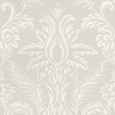 Nina Campbell Ardwell Grey / White Wallpaper