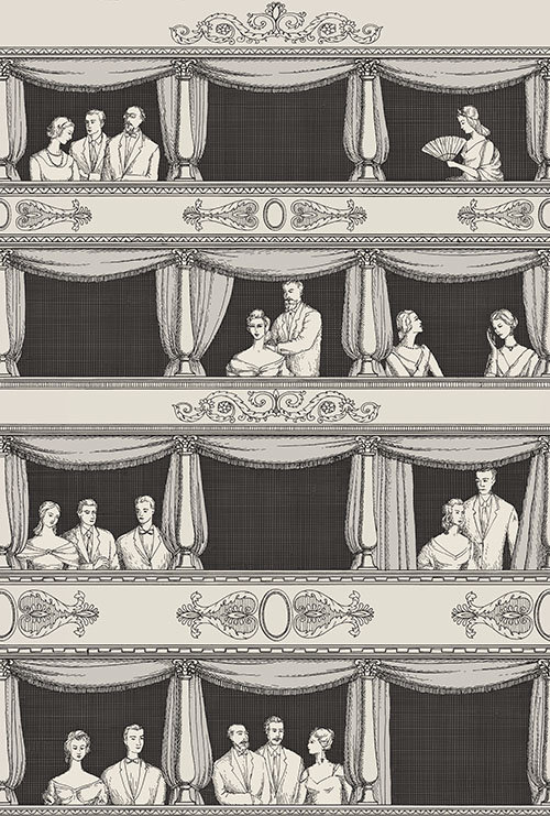 Cole & Son Teatro Wallpaper main image