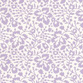 Lorca Louisiane Lavender / White Wallpaper