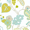 Clarke & Clarke Botanica Aqua Wallpaper