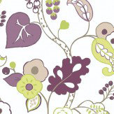Clarke & Clarke Botanica Heather Wallpaper