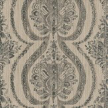 Prestigious Grande - Onyx Black / Taupe Wallpaper