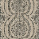 Prestigious Grande - String Taupe / Grey Wallpaper