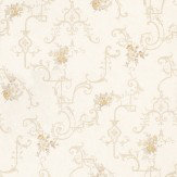 Albany English Classics Yellow / Cream  Wallpaper