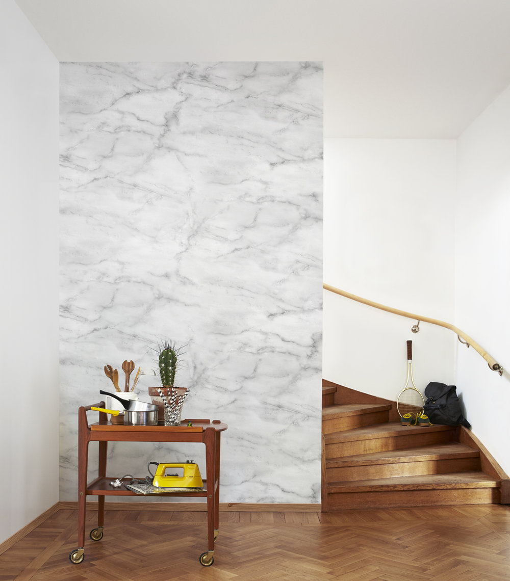 Magic Marble Mural - by Mr Perswall