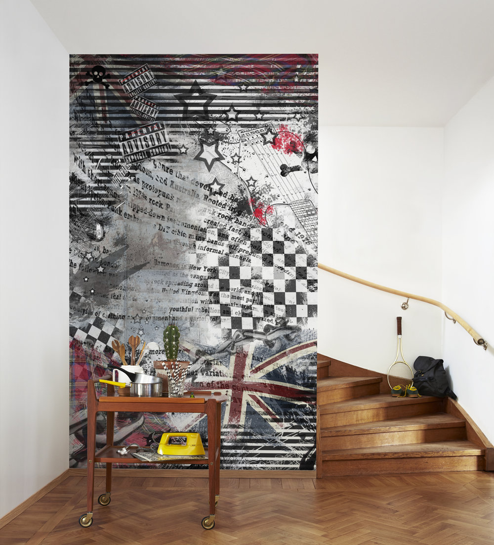 Mr Perswall Punk Mural - Product code: P161301-4