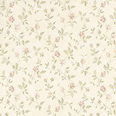 Albany Rosebud Trail Red Wallpaper