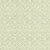 Albany Isabella Damask Green Wallpaper