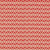 Scion Dhurrie Red Fabric