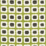 Scion Shoji Green / Charcoal Fabric - Product code: 120185