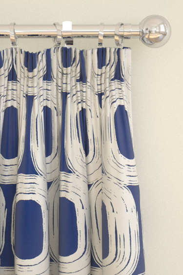 Scion Loop Ink Blue Curtains - Product code: 120197