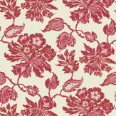 Thibaut Helena Red Wallpaper - Product code: T4102