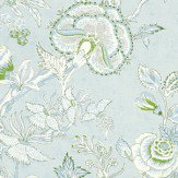 Thibaut Rittenhouse Sky Blue Wallpaper - Product code: T4145