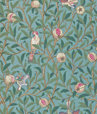 Image of Morris Wallpapers Bird & Pomegranate, 212538
