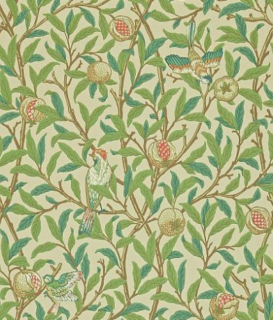 Image of Morris Wallpapers Bird & Pomegranate, 212539