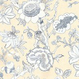 Thibaut Rittenhouse Blue / Tan Wallpaper - Product code: T4146