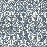 Thibaut Sansome Navy Wallpaper - Product code: T4151