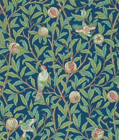 Image of Morris Wallpapers Bird & Pomegranate, 212540