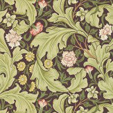 Morris Leicester Olive Wallpaper